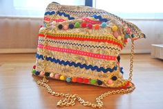 DIY Boho Festival Bag Finished