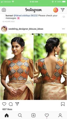 Latest Blouse Designs that are Smokin' Hot and Trending AF - - Choli Blouse Design, Saree Blouse Neck Designs, Choli Designs, Fancy Blouse Designs, Stylish Blouse Design, Designer Blouse Patterns, Churidar, Anarkali, Sarees