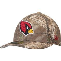 Arizona Cardinals New Era Low Profile 59FIFTY Hat - Realtree Camo