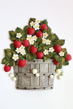 paper quilling-strawberry http://blog.naver.com/101kaikei/220477301515