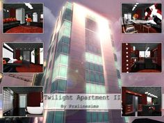 Twilight Apartment by Pralinesims http://www.thesimsresource.com/downloads/1192302
