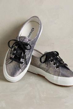 Superga Cotu Sneakers Grey Sneakers #anthroregistry