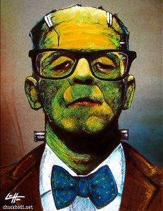 Professor Frankenstein Monster Creature by chuckhodi