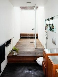 Wohnideen Badezimmer Feng Shui Duschkabine