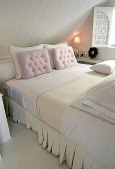Shabby chic bedroom - http://myshabbychicdecor.com/shabby-chic-bedroom-207/ - #shabby_chic #home_decor #design #ideas #wedding #living_room #bedroom #bathroom #kithcen #shabby_chic_furniture #interior interior_design #vintage #rustic_decor #white #pastel #pink