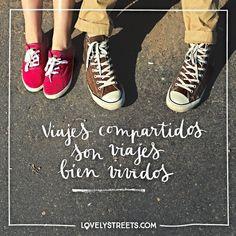 """3,129 Me gusta, 76 comentarios - Lovely Streets (@lovelystreetsofficial) en Instagram: """"La vida, compartida, es mejor. ¿Con quién compartirías un viaje sin billete de vuelta? -  A shared…"""""""