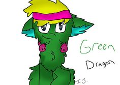 """Green Dragon request for @graceraccoon this is really late I apologize ^^"""" Hope you like it!  (@warriorcats973)"""