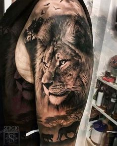 Lion Tattoo Models For Men - Tattoos For Men: Best Men . - Lion Tattoo Models For Men – Tattoos For Men: Best Men Tattoo Models Lion Tattoo Models For - Lion Arm Tattoo, Lion Tattoo Sleeves, Lion Head Tattoos, Lion Tattoo Design, Leo Tattoos, Future Tattoos, Tattoo Designs Men, Body Art Tattoos, Sleeve Tattoos