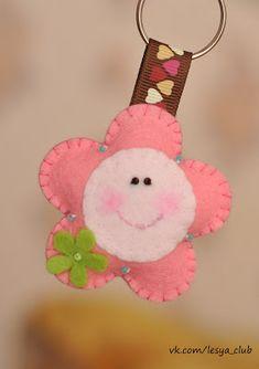 felt petite flower