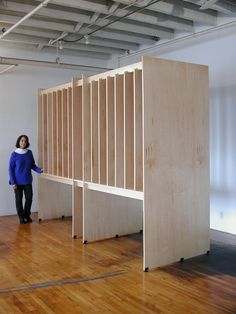 Custom Size Large Art Storage Systems for the Storage of Paintings.