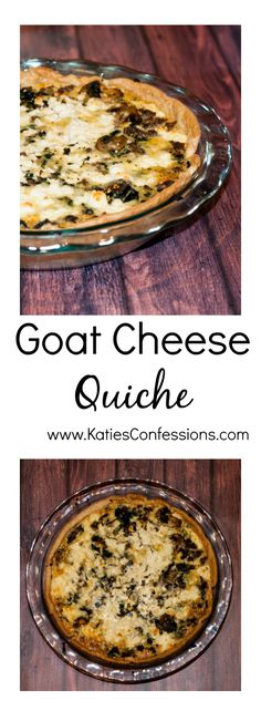 This goat cheese quiche is a wonderfully creamy twist on the classic quiche. It is simple to make; the added veggies and meat make it filling and delicious.