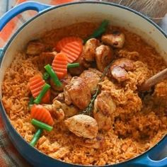 Jollof Coconut Rice