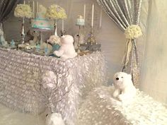 Polar Bears Baby Shower Party Ideas | Photo 7 of 29
