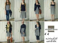 minimal-ish wardrobe