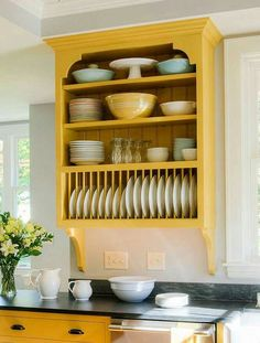 love this ~ sunshine in the kitchen