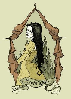 Snow White by *AbigailLarson on deviantART