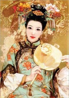 Derzhen (Abraxsis) [德珍繪館 or Jiang Qing Yi or Der Jen], a woman-paiter, was born in 1974 in Taipei (Taiwan) https://rceliamendonca.wordpress.com/2012/04/25/um-a-autor-a-duas-obras-jiang-qing-yi-derzhen-ou-der-jen/