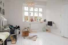 hvidmalede gulve - Google-søk