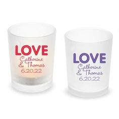 Personalized frosted tealight candle holder with LOVE Design. Unique votive candle holders for your wedding decoration. Glass Votive, Tealight Candle Holders, Reception Table Decorations, Wedding Decorations, Tea Light Candles, Tea Lights, Frosted Glass Design, Love Design, Tea Light Holder