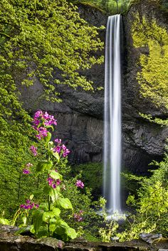 Latourell Falls, Columbia Gorge National Scenic Area, Oregon | Larry Brown, The Flannel Photographer on flickr