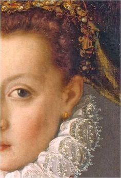Multiple ear piercings. Retrato de mujer, 1560, Sofonisba Anguissola, Museo Lázaro Galdeano, Madrid