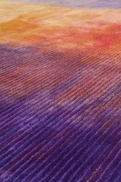 Tai Ping #Carpets, Chroma Collection, Phenomena: This #rug mimics a dry-brush…
