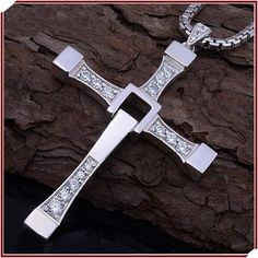 Jesus Loves You, Man Cross Necklace, Man Praying Holy Article