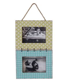 Loving this Double Hanging Frame on #zulily! #zulilyfinds