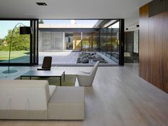 white oak floor lounge room - Google Search