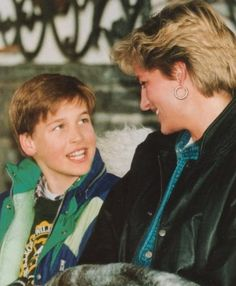 Princess Diana with Will