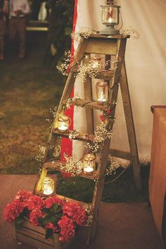 18 Beautiful Ways To Use Candles At Your Wedding ❤ See more: http://www.weddingforward.com/wedding-ideas-with-candles/ #weddings #decoration