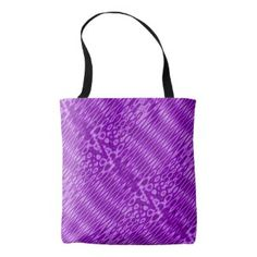 Modern Purple zigzag Tote Bag #zazzle #fashion #cool