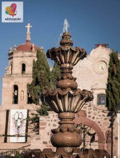 Fuente de Nahuatzen Michoacan
