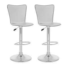 Sonax B-2 CorLiving Tall Curved Back Adjustable Bar Stool (Set of 2)