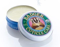 Badger Balm Cuticle Care Ideal for hard working hands. The soothing shea and cocoa butters nourish and repairs dry, splitting cuticles. Stops further damage and repairs existing splitting cuticles. All ingredients certified organic. Badger Balm, Cuticle Care, Beauty Treats, Layers Of Skin, Hair Skin Nails, Wash Your Face, Shea Butter, Cocoa Butter, Beauty Shop