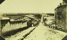 SAO PAULO LADEIRA DO CARMO E ATERRADO DO BRAZ 1862