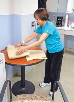 Bilateral Arm Training: A task-oriented approach to stroke rehabilitation returns function to compromised limbs. http://physical-therapy.advanceweb.com/Features/Articles/Bilateral-Arm-Training.aspx