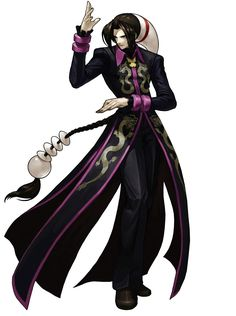 Duo Lon - Pictures & Characters Art - King of Fighters XIII