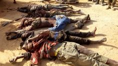 In an encounter with Boko Haram terrorists, advancing troops of Nigerian Army at Furkati village...