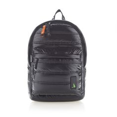 Mueslii | Black nylon backpack