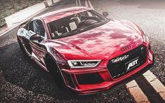 Hämta bilder ABBOT, tuning, Audi R8 V10, supercars, Bilar 2018, Audi R8, road, Audi