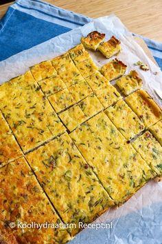 Kaas uien taart met kruiden, lunch of borrelhapje High Protein Recipes, Vegan Recipes, Snack Recipes, Quiches, Brunch, Dutch Recipes, Low Carb Keto, High Tea, Good Food