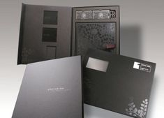American Express Centurion Welcome Pack and Outer Mailer - a creative packaging solution produced by Cedar Packaging