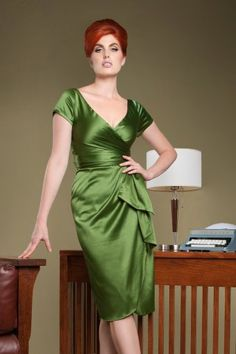 Pinup Couture Ava Dress Green  100 40 14253 2