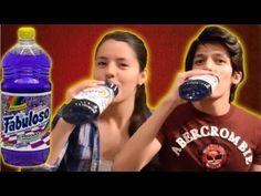 Bebiendo limpiador de pisos con cloro! Videos de risa 2013 | Bromas graciosas | Bromas pesadas - YouTube