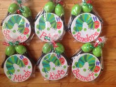 Personalized The Very Hungry Caterpillar Musical Party Tambourines and Maracas-- Party Favor, birthdays, communions , christenings- by KUTEKUSTOMKREATIONS on Etsy First Birthday Balloons, 1st Birthday Photos, 2nd Birthday, Christening Photos, Music Themed Parties, Hungry Caterpillar Party, Personalized Party Favors, 1st Birthdays, Tambourine