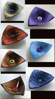 Polymer Clay Bowls by Helen Breil