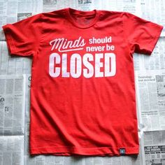 Closed Men's Tee Red now featured on Fab.