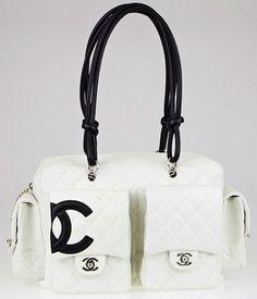Chanel Quilted Leather Ligne Cambon Reporter Shoulder Bag $2,450