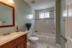 Hallway bathroom spaces designed by Rehabber Pro. #RehabberPro #BathroomDesigns www.rehabberpro.com